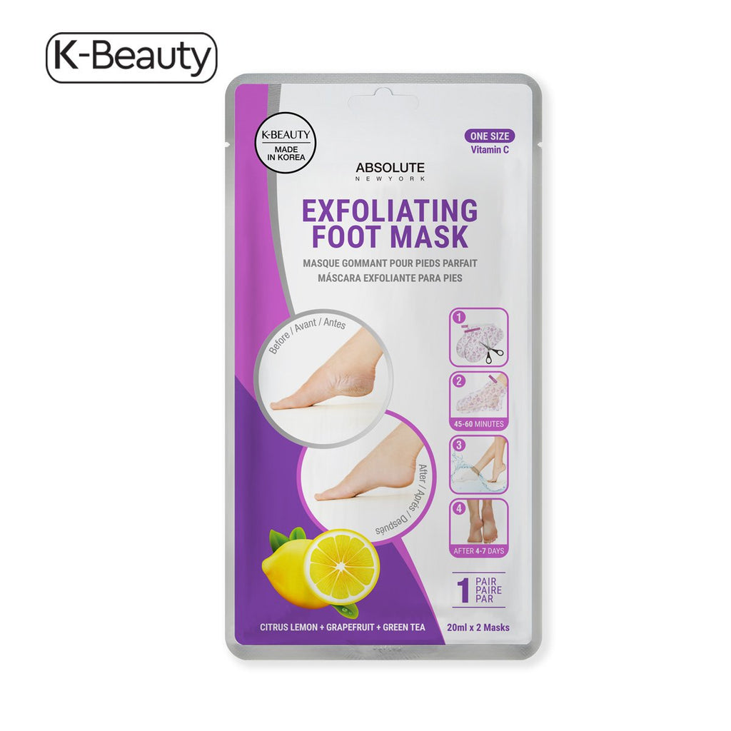 Absolute! Exfoliating Foot Mask Citrus