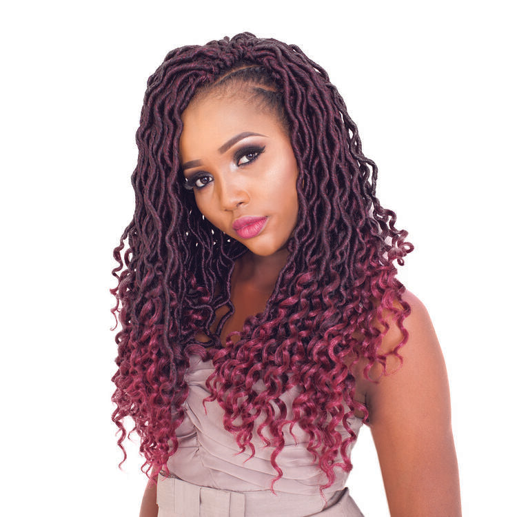 Goddess Wavy Locs 18 Inch Crochet Hair