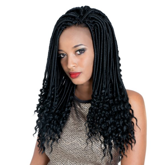 Linda Braid Short Goddess Faux Locs 14""