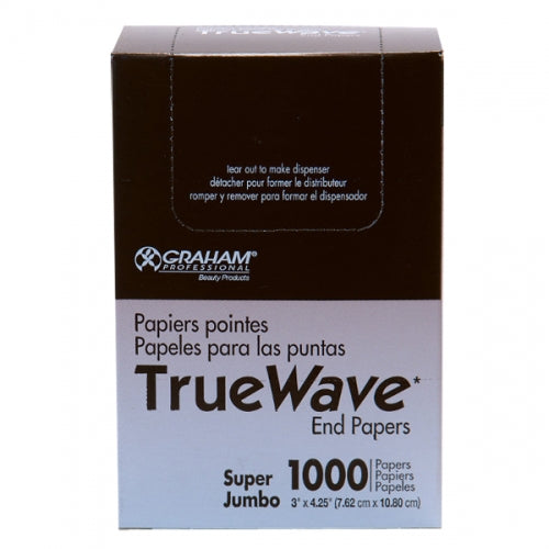 Graham Beauty TRUE WAVE End Wraps (Super Jumbo) 3 X 4.25""