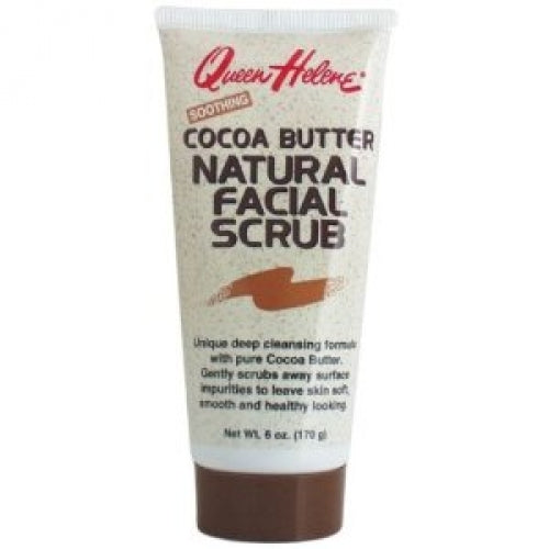 Queen Helene Cocoa Butter Facial Scrub 6 Oz