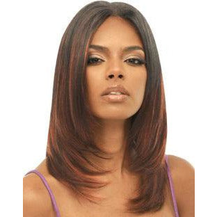Janet Collection, Remy Human Hair, Yaky Weaving 12 Inch - Color 1B