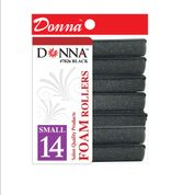 Donna Foam Rollers (Small) Black
