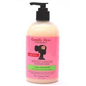 Camille Rose Sweet Ginger Cleansing Rinse 12oz.