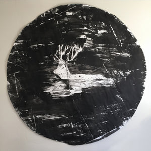 "NIGHT SWIMMER -65""x65"""