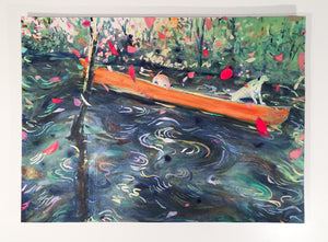 "LAZY RIVER BOYS -28""x39""x1"""