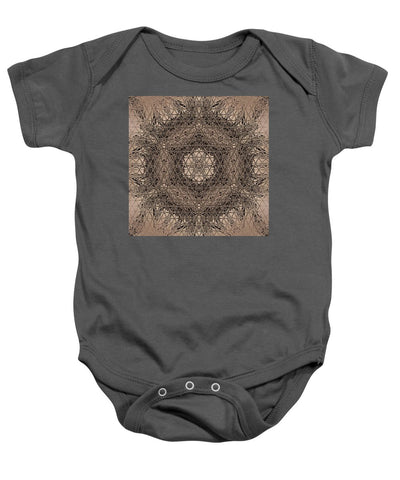 Ancestors Matrix By Ocean's Moon - Baby Onesie