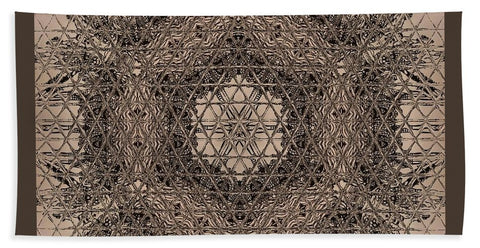 Ancestors Matrix By Ocean's Moon - Beach Towel