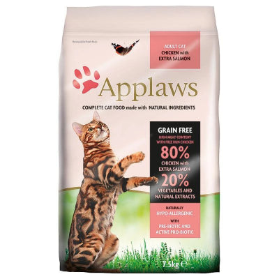 Applaws poulet, saumon pour chat