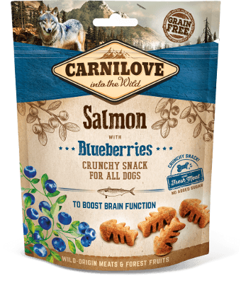 Carnilove - Dog Crunchy Salmon with Blueberries