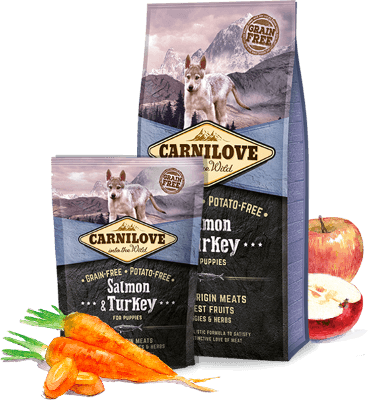 Carnilove Salmon and Turkey - For Puppy
