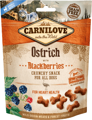 Carnilove - Dog - Crunchy - Ostrich with Blackberries