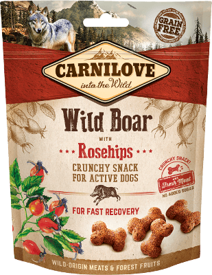 Carnilove - Dog - Crunchy Wild Boar with Rosehips