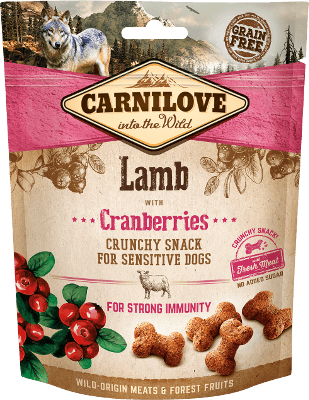 Carnilove - Dog - Crunchy Lamb with Cranberries - Luxembourg Dog food