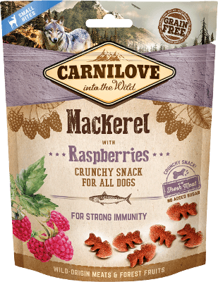 Carnilove - Dog - Crunchy - Mackerel with Raspberries