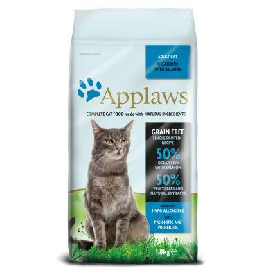 Applaws Adult, poisson de mer, saumon pour chat