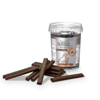 Friandises | Fit-Sticks Chicken+Lamb - Platinum Snacks