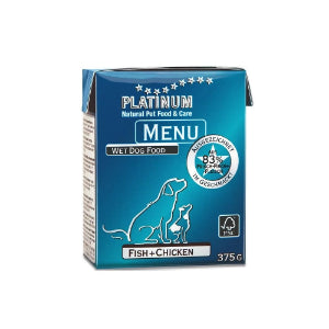 Platinum Menu Fish & Chicken 375g