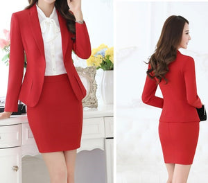 Suit with Blazer & Skirt - Sadie Cole