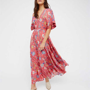 Casual Boho Dress - Sadie Cole