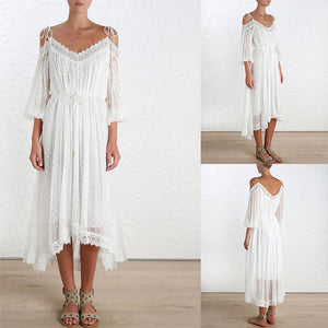 Pure Elegance Beach Dress - Sadie Cole