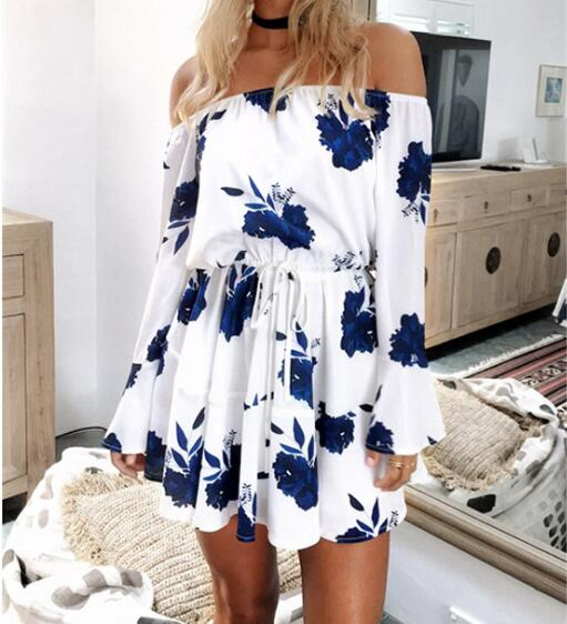 Off-shoulder Boho Romper - Sadie Cole
