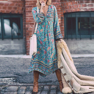 Floral Boho | Casual Dress - Sadie Cole