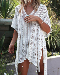 Crochet Cover up | Beachwear - Sadie Cole