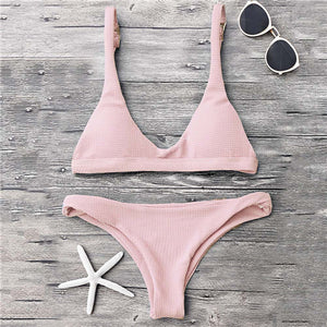 Low-waist Bikini Swimwear - Sadie Cole