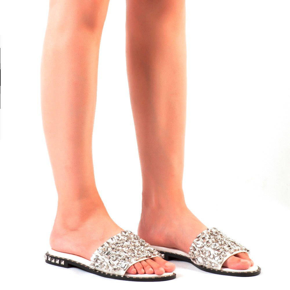 Crystal Beach Flats | Women's Shoes - Sadie Cole