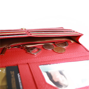 Slim Luxury RFID Wallet Clutch - Sadie Cole