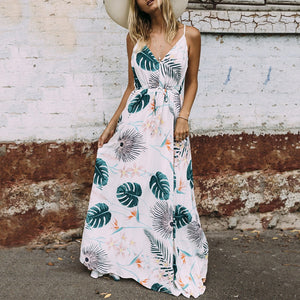 Palms Sundress | Casual Dress - Sadie Cole
