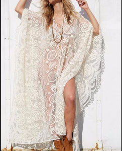 Lace Boho Beachwear - Sadie Cole