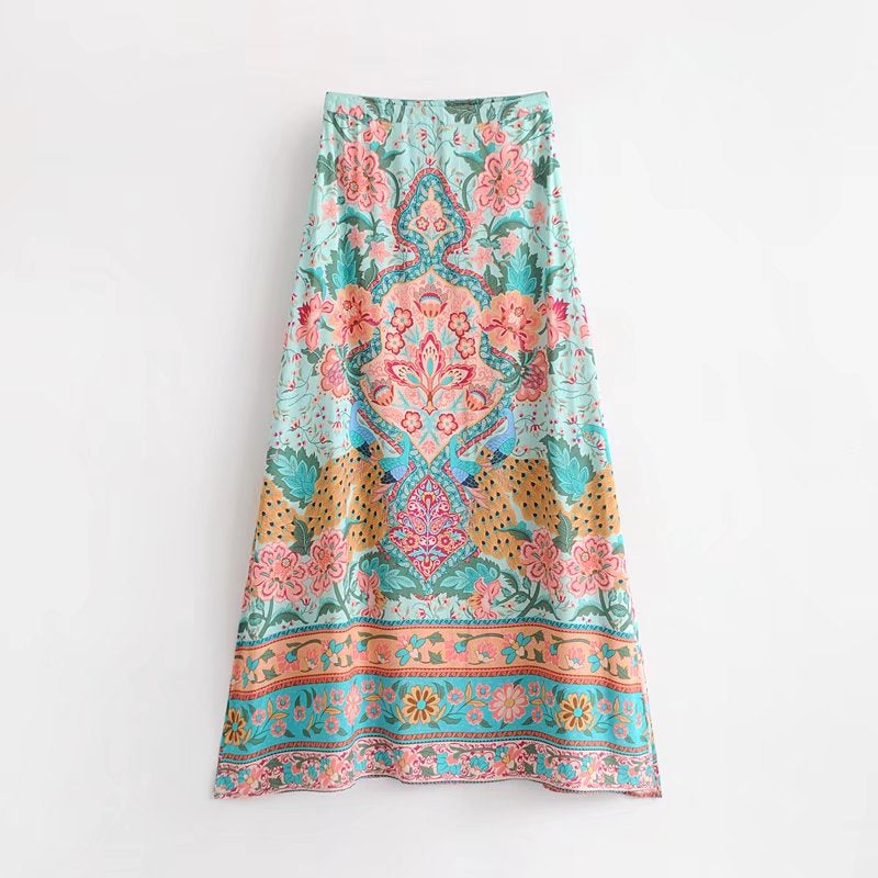 Boho Chic Wrap Skirt - Sadie Cole