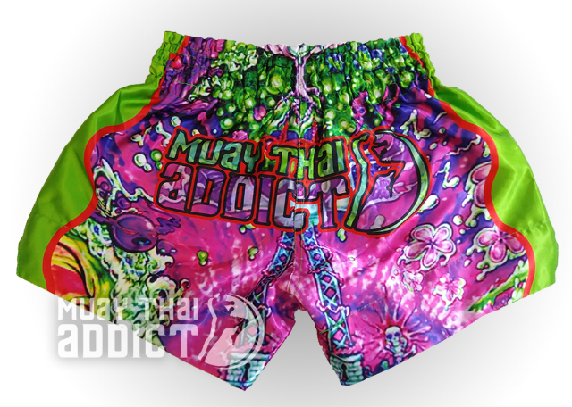 Third Eye Trip Muay Thai Shorts - Green