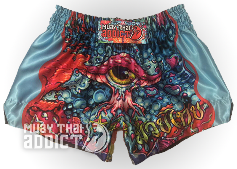 Third Eye Trip Muay Thai Shorts - Blue