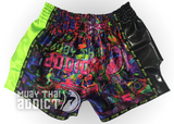 Muay Thai Gang Shorts - Green
