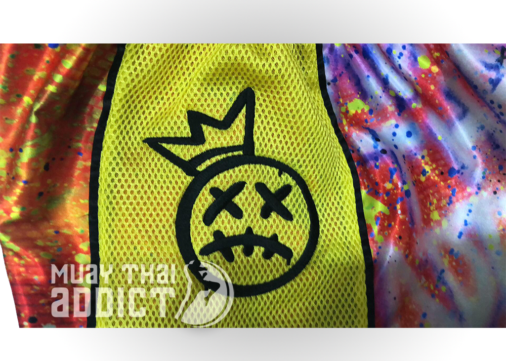 King Assassin Shorts - Yellow