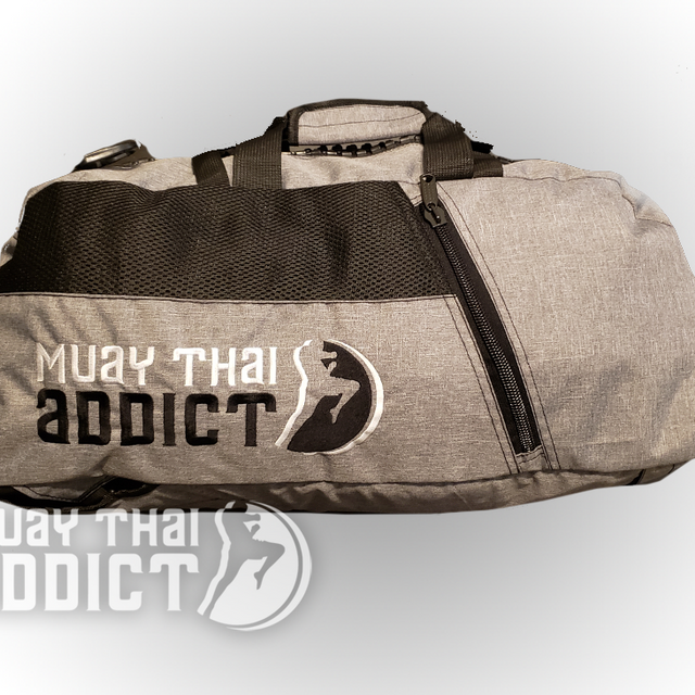 Grey MTA Gym Bag