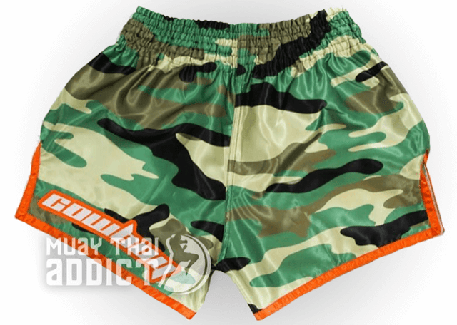 "Camo ""Cowboy"" Donald Cerrone Signature Series Muay Thai Shorts"