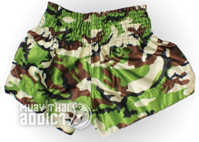 Camo Muay Thai Shorts