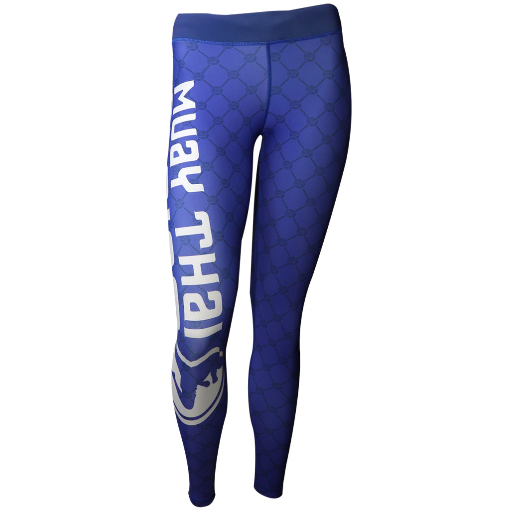 MTA Compression Spats - Blue