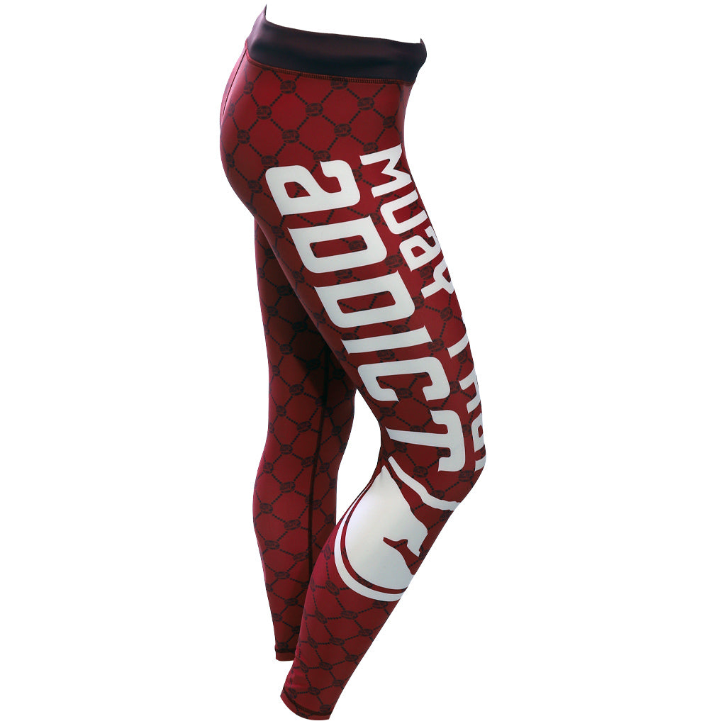 MTA Compression Spats - Red
