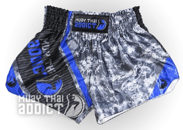 Digi Blue Muay Thai Shorts