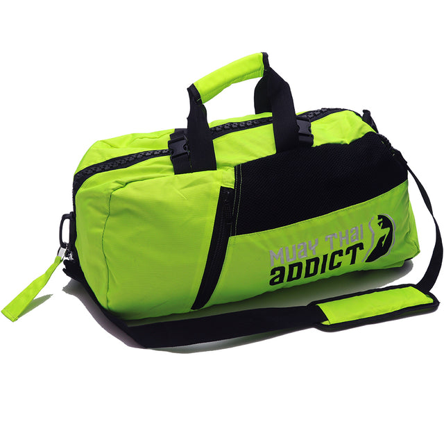 Lime Green MTA Gym Bag
