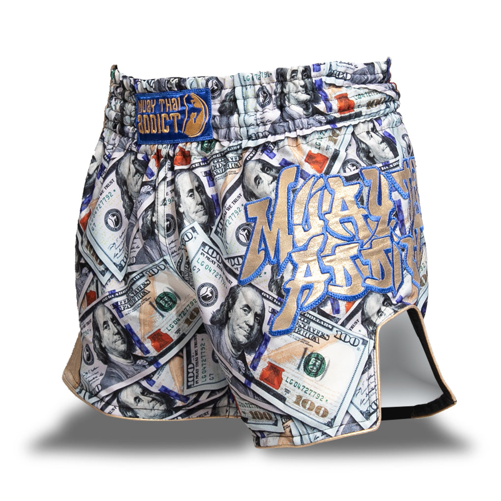 C.R.E.A.M. Money Muay Thai Shorts