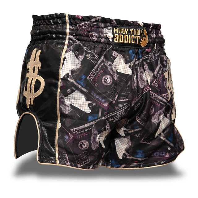 Dark Money Muay Thai Shorts - Pre-Order