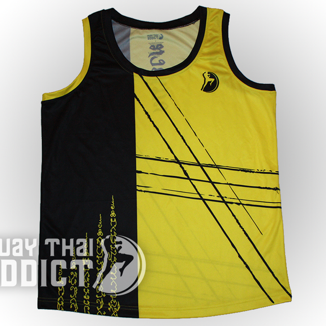 Kratoo Jed Bak Jersey - Yellow and Black