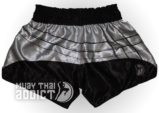 Baramee Phra B.C. Shorts - Grey and Black