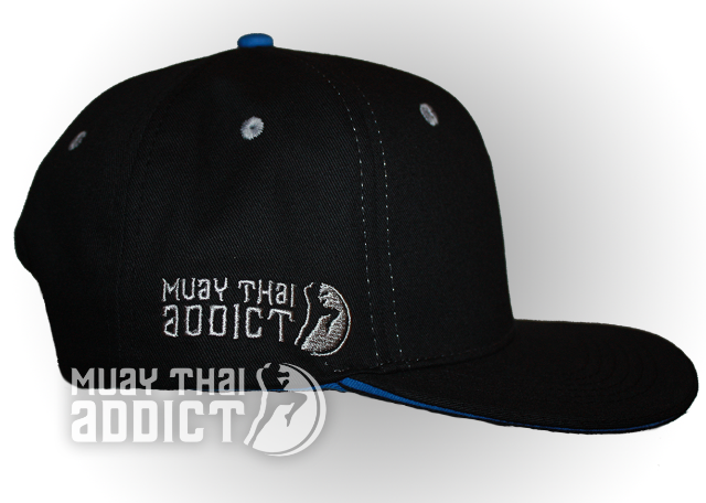 Kao Yod Cap - Blue and Black